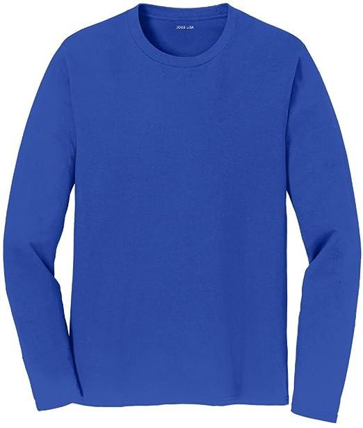 71d3e388f76 Amazon.com  Joe s USA - Mens Long Sleeve Soft Cotton Lightweight T ...