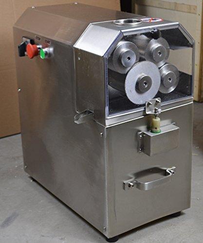 Four Rolls Electric Sugar Cane Ginger Press Juicer 110V