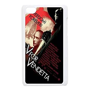 V For Vendetta Movie 1 iPod Touch 4 Case White 218y-894909