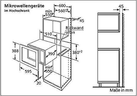Siemens HF23556EU, 2410 W, 230 V, 16 A, Acero inoxidable ...