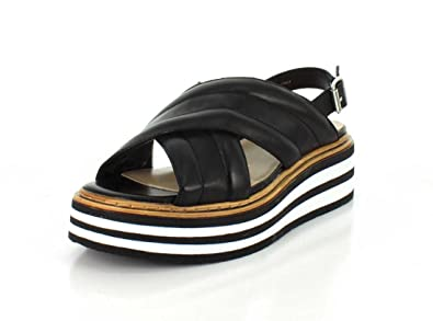 25b491f7184651 SUMMIT Womens Leanna Black Sandal - 40