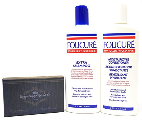 Folicure Extra Shampoo and Conditioner 12 Ounce Bundle for sale  Delivered anywhere in USA