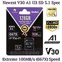 Amplim 128GB Class 10 MicroSD Memory Card