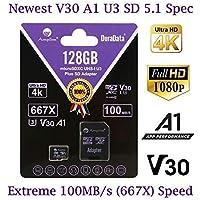 Amplim 128GB Class 10 MicroSD Memory Card (Purple)
