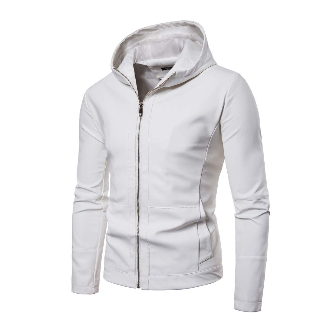 ENVMENST Men Hoodies Coat New Spring Autumn Men Hooded Jacket Men's Fashion Outdoorsman