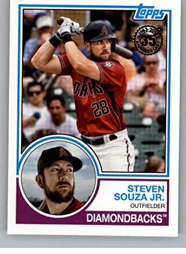 2018 Topps Update 1983 Topps 35th #83-9 Steven Souza Jr. Arizona Diamondbacks MLB Baseball Trading Card
