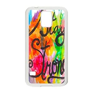Stay Strong Unique Design Cover Case for SamSung Galaxy S5 I9600,custom case cover ygtg607589