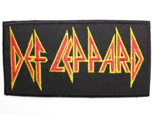 DEF LEPPARD IRON ON EMBROIDERED PATCH