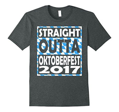 Oktoberfest Ideas (Mens Funny Oktoberfest Gift ideas Man T shirt Medium Dark Heather)
