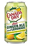 Canada dry diet ginger ale and lemonade, 12 fl oz, 12 cans