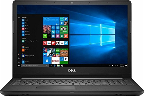 Dell Inspiron 15.6 inch HD Touchscreen Flagship High Performance Laptop PC | Intel Core i5-7200U | 8GB RAM | 256GB SSD | Bluetooth | WIFI | Windows 10 (Black) from Dell