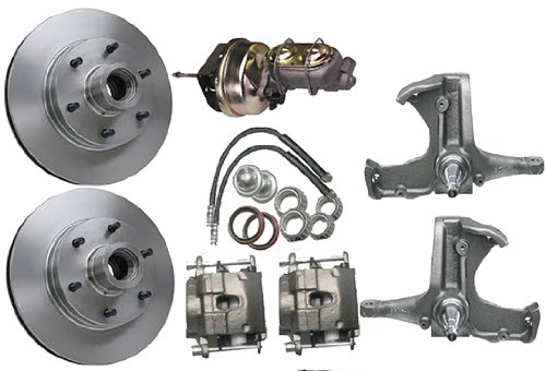 - McGaughys Chevy C10 1963-66 Stock Spindles 6 Lug Power Disc Brake Kit 7
