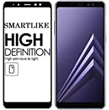 SmartLike Samsung Galaxy A7 2018 / A730F / A730F/DS 4D 9H Curve Edge to Edge Full Front Body Cover Tempered Full Glass Screen Protector Guard for Samsung Galaxy A7 2018 / A730F / A730F/DS - Black