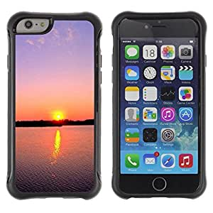 "Hypernova Defender Series TPU protection Cas Case Coque pour Apple Iphone 6 PLUS 5.5 [Sunset Beautiful Nature 88""]"