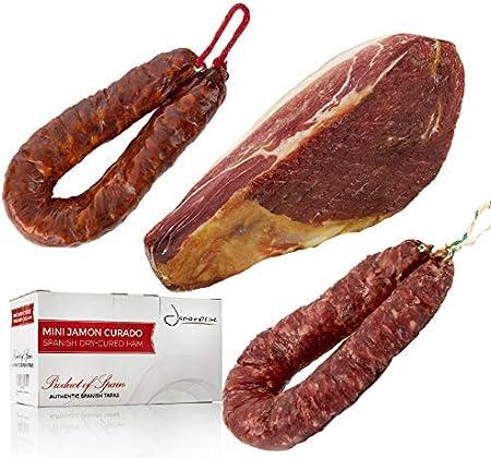 El mini jamón curado es un producto elaborado a partir de las mejores piezas del cerdo seleccionadas