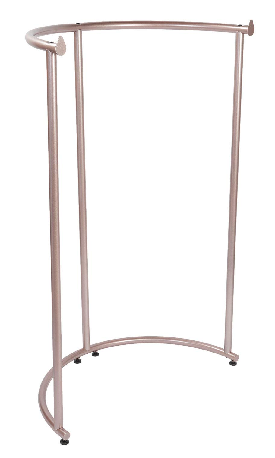 SSWBasics Half Round Rack - Rose Gold Clothing Rack (37 1/2'' W x 55'' H)