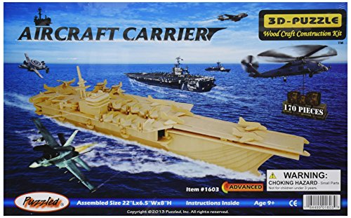 Puzzled Aircraft Carrier -