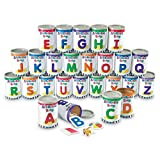 Learning Resources LER6801 Alphabet Soup Sorters, 209 Pieces