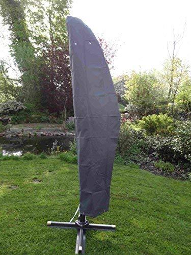 Spetebo Hochwertige Schutzhülle Für Ampelschirm Bis 400 Cm Material Oxford