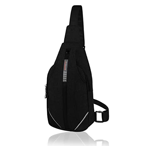 e0d468510 Waterfly Small Crossbody Sling Backpack Anti Theft Backpack for Traveling Chest  Bags for Men&Women Multipurpose Casual