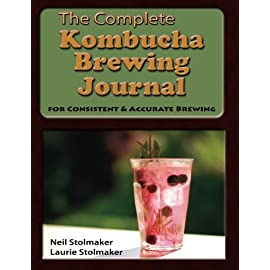 The Complete Kombucha Brewing Journal: the essential companion for the kombucha home brewer to maximize brewing results and consistently make yummy kombucha all year long while saving time and money 12 Kombucha has taken the world by storm! If you are one of the millions of folks who have discovered that you love to drink booch, then you probably have not