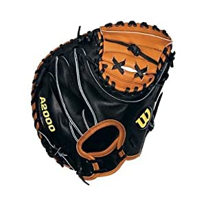 Wilson Sports A2000 Pudge Catcher Mitt - Right Hand Throw - Size 32.5