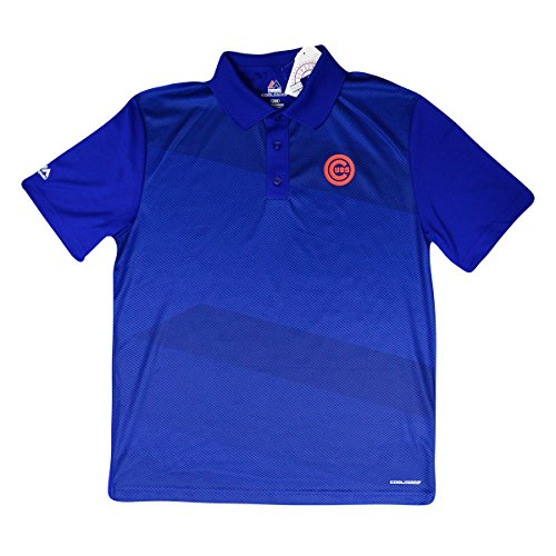 - Majestic Chicago Cubs MLB Late Night Prize Men's Performance Polo Shirt