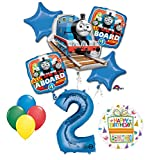 The Ultimate Thomas the Train Engine 2nd Birthday Party Supplies and Balloon Decorations