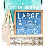 Felt Letter Board 10x10 (Light Blue) +690 PRE-Cut Letters +Cursive +Upgraded Wooden Sorting Tray | Letter Board with Letters, Letters Board, Letter Boards, Letterboard, Word Board, Message Board (Color: Blue, Tamaño: 10x10)