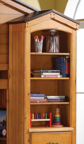 Acme Furniture 10163 Tree House Book Shelf Cabinet, Rustic O