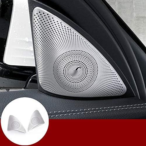 Mercedes Benz E Class W212 Chrome Door Speaker Cover Trim