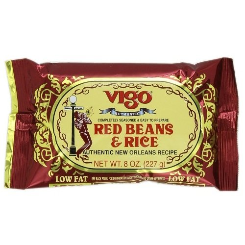 Vigo Red Beans and Rice, 8-Ounce Pouches (Pack of 12) ()
