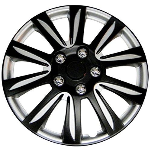 black 16 in hubcaps - 5