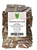 Dualspices Cinnamon Sticks 2 Pounds ~ 100 to 150 Sticks 3 Inches Length Cassia Cinnamon