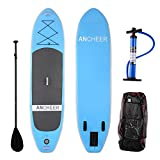 Ancheer PVC Inflatable Stand Up Paddle Board with Backpack