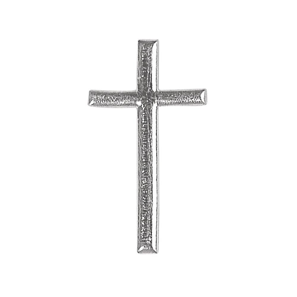 RAYHER 3120922cera Motivo: croce, 4cm, SB SB-Btl, Argento RAYHER HOBBY