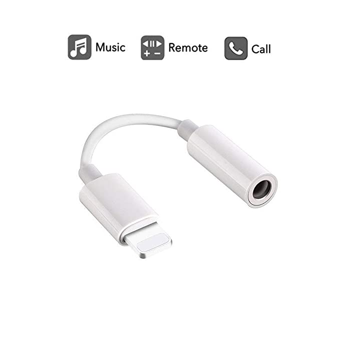 best cheap 148bf 30466 Labobbon 3.5mm Headphone Jack Adapter, Connector for iPhone Xs/ Xs Max/ XR/  iPhone 8/8 Plus/X (10) / 7/ 7 Plus, iPad and More, Music Control & Calling  ...