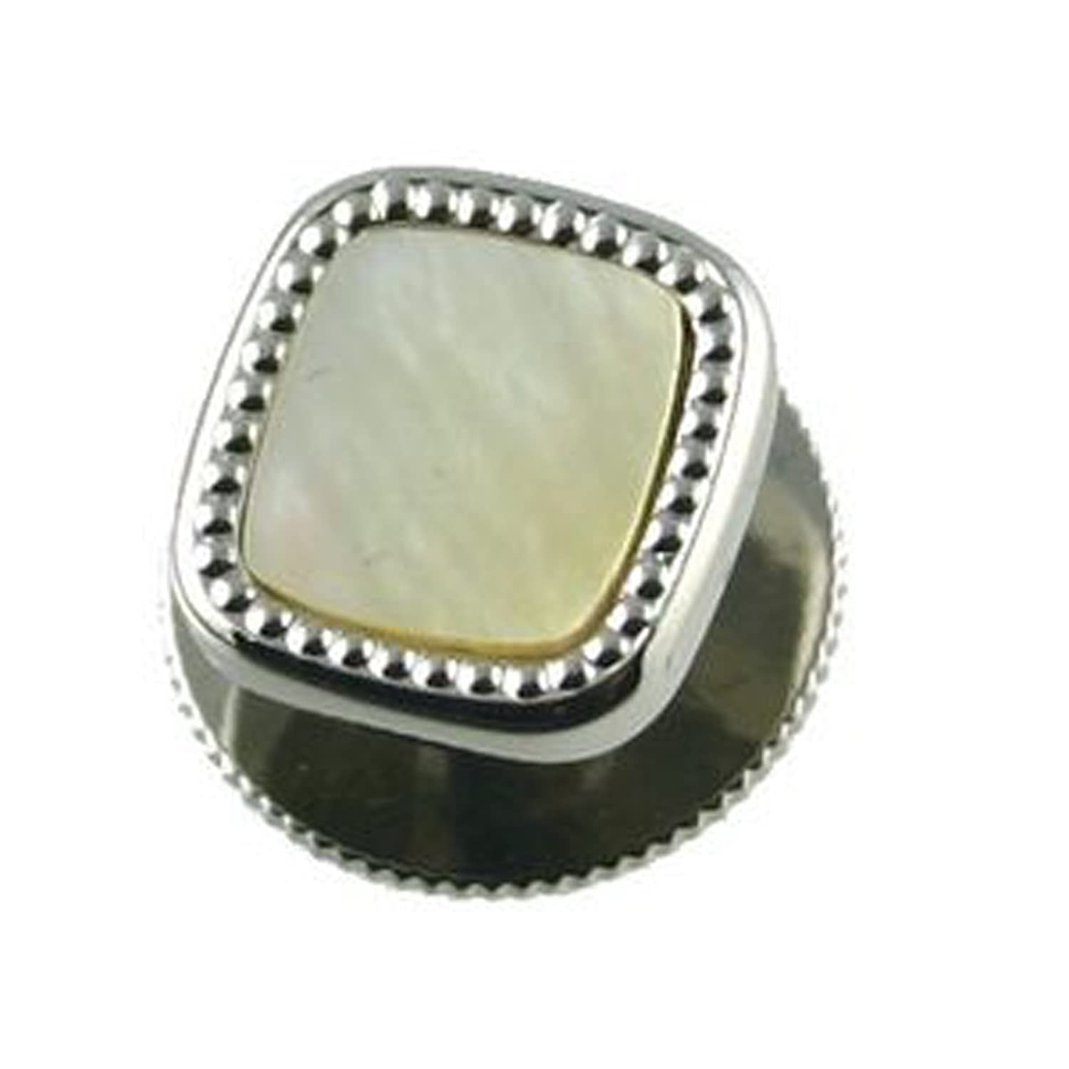 Mother of Pearl Dress Studs in Black Box