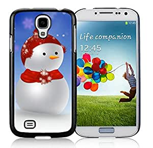 Galaxy S4 cases, Samsung Galaxy S4 cases,Christmas snowman Samsung Galaxy S4 i9500 Case Black Cover