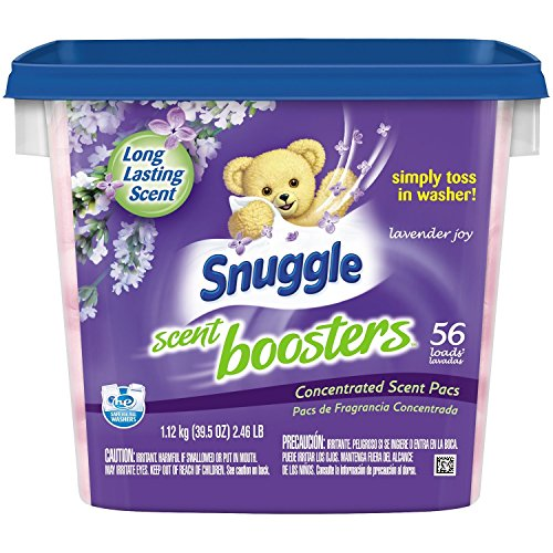 Snuggle Scent Boosters Long-lasting scent Lavender Joy Simply toss in washer Concentrated Scent Pacs, 56 count, 39.5 oz