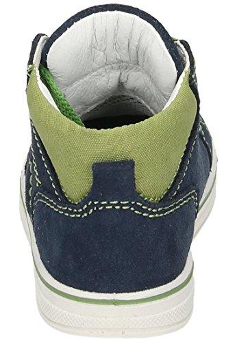 Imac Imac Kinder Schnürer - Botas de Piel para niño azul azul Azul