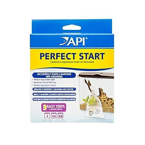 API PERFECT START Complete Aquarium Start Up Program Additive - Api Tap Water Conditioner