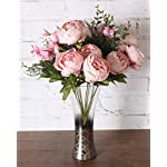 Duovlo-Springs-Flowers-Artificial-Silk-Peony-Bouquets-Wedding-Home-DecorationPack-of-1-Spring-Light-Pink