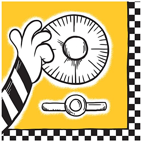 BirthdayExpress Police Party Cops and Robbers Party Lunch Napkins (20) ()