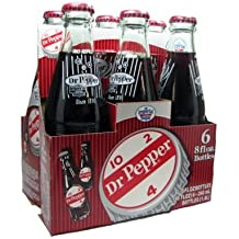 Dublin Dr Pepper 24 pack Glass Bottles
