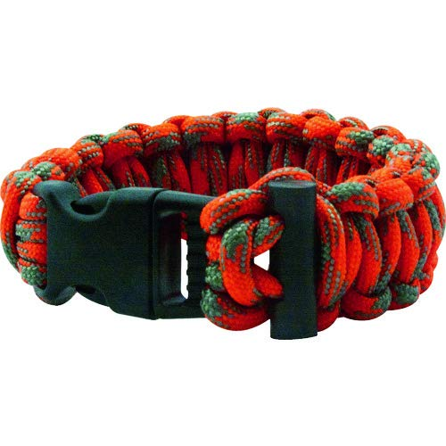 Flammable Thread Core and Fire Starter for Emergency UST ParaTinder Bracelet with Heavy Duty Paracord Backpacking or Outdoor Survival ULTIMATE SURVIVAL 20-02991 Camping Hiking