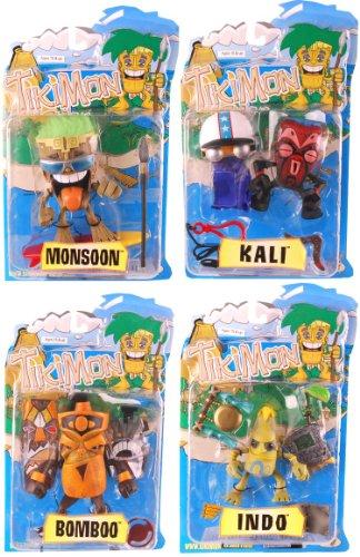 Tikimon Series 1 Set Of 4 Action Figures