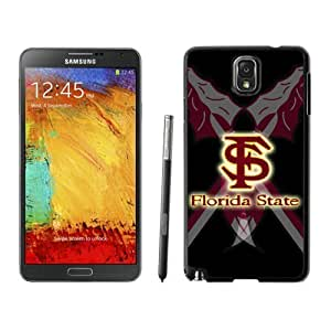 Customized Designer Sports Samsung Galaxy Note 3 Case Ncaa ACC Atlantic Coast Conference Florida State Seminoles 10 Cheap Phone Covers