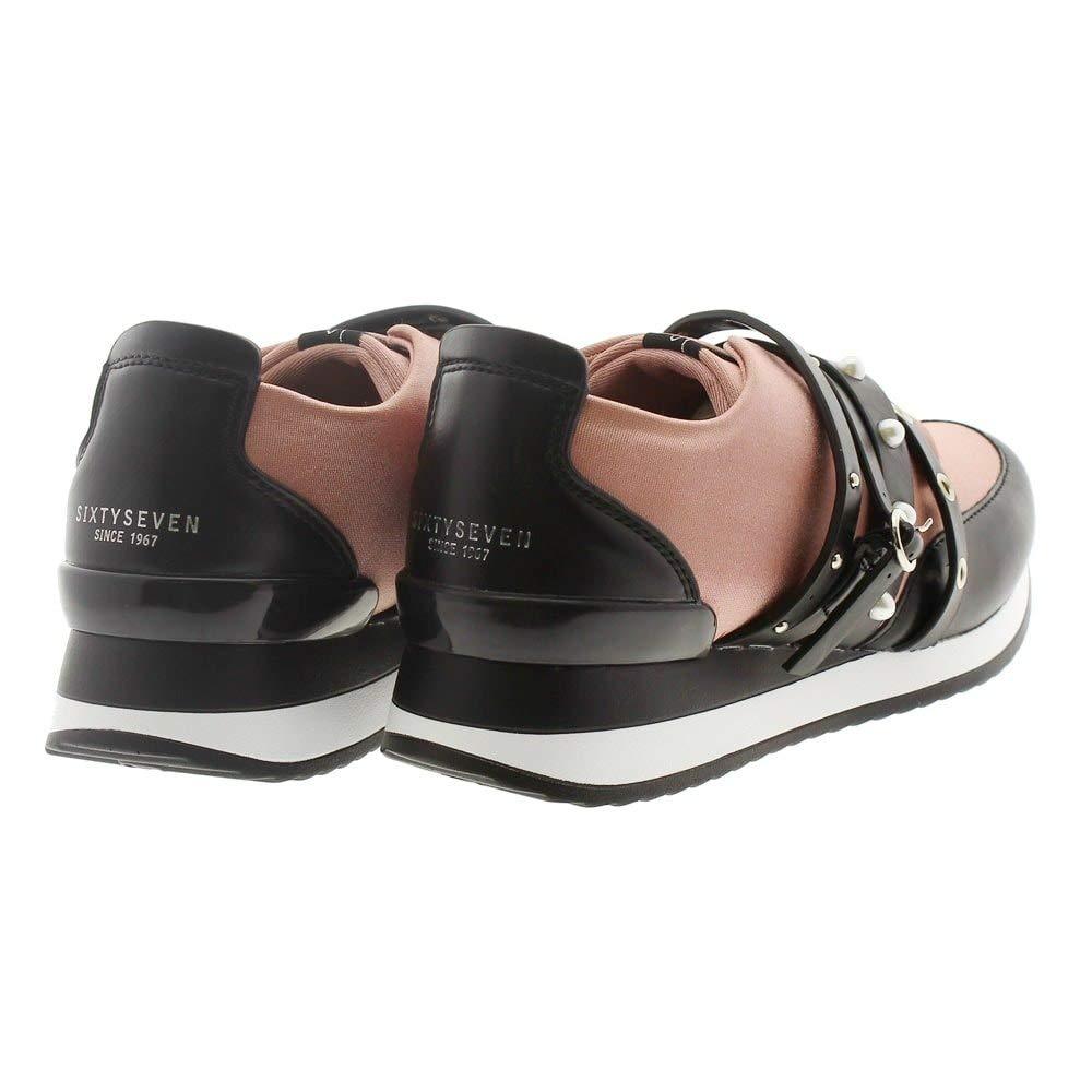 complementos Amazon y 41 Sixtyseven 79779 Mujer Casual Zapatos Zapatos Rosa es Sneakers 01APHn7