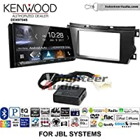 Volunteer Audio Kenwood DDX9704S Double Din Radio Install Kit with Apple Carplay Android Auto Fits 2011-2012 Toyota Avalon with Amplified System